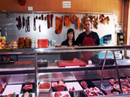 Alimentación Alonso San Leonardo de Yagüe. Carnicería